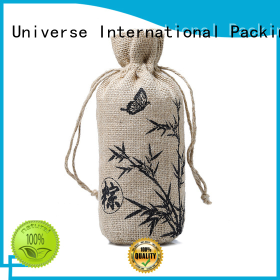 Yonghuajie jute laptop bags at discount for packing