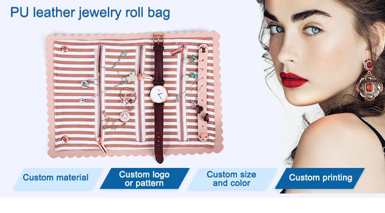 Top female leather bag printed for wedding rings-1