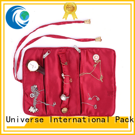Yonghuajie reusable satin drawstring bags with zipper for packing
