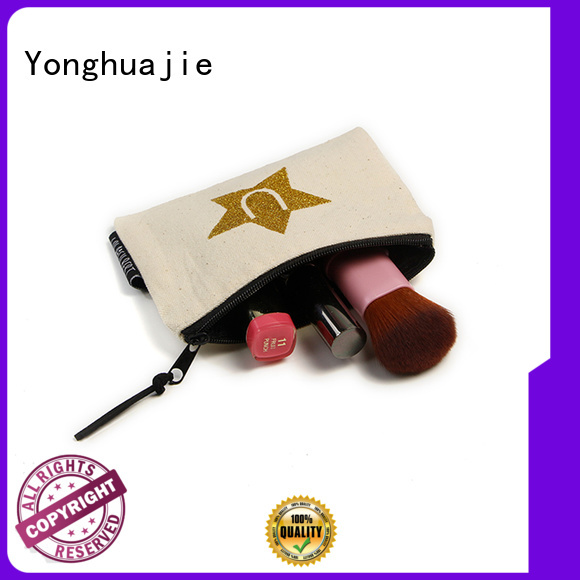 small canvas bags custom size for makeup Yonghuajie