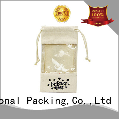 Yonghuajie Wholesale plain canvas tote bags grey canvas canvas zipper bag canvas drawstring bag strong for shopping