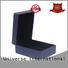 black leather ring box free sample Yonghuajie