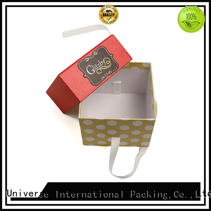 Yonghuajie High-quality gift box with ribbon best factory price for jewelry shop