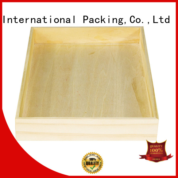 Yonghuajie wooden box manufacturer for wholesale for display