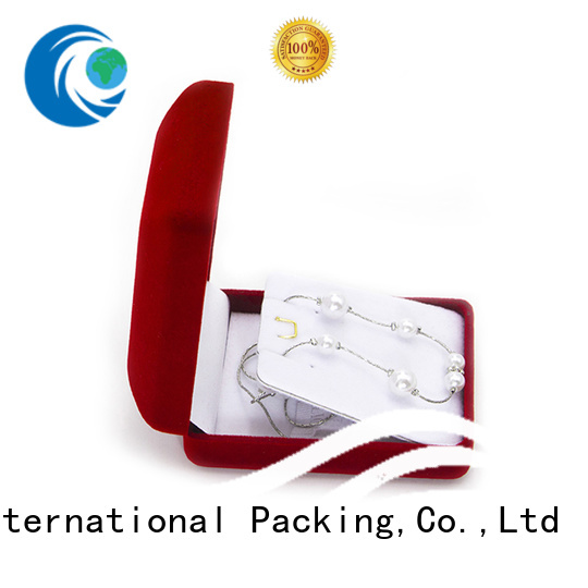 Wholesale custom jewelry boxes luxury free sample for wedding rings