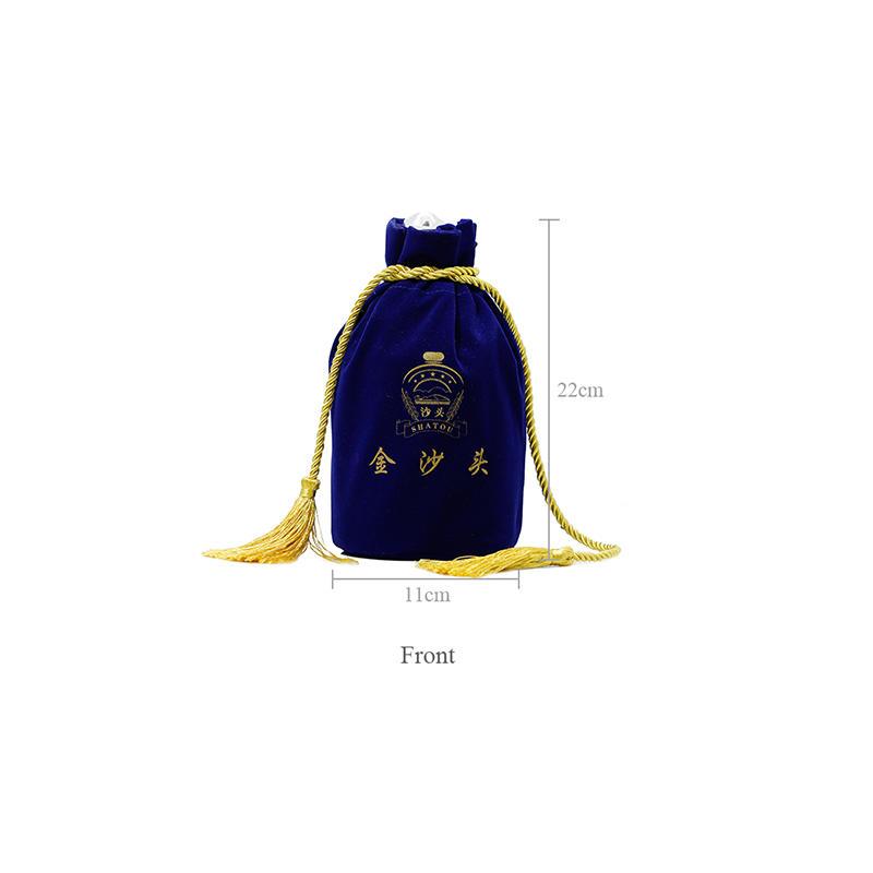 Yonghuajie purple velvet makeup bag cheap for packing-1