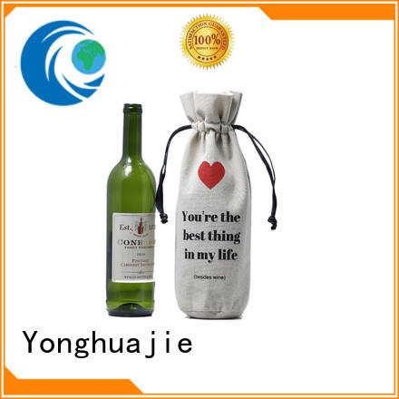 Custom wholesale canvas bags grosgrain factory for present