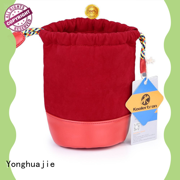 Yonghuajie top manufacturer velvet pouch cheap for packaging
