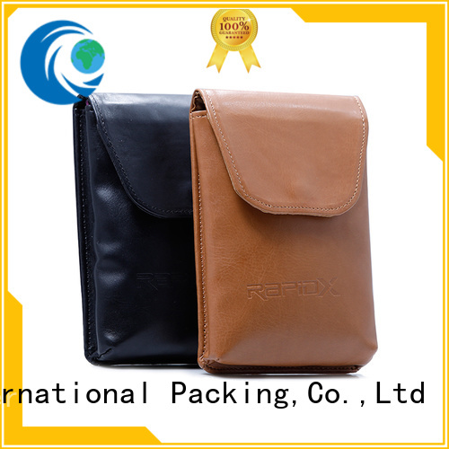 Yonghuajie pu leather leather college bags for business for necklace