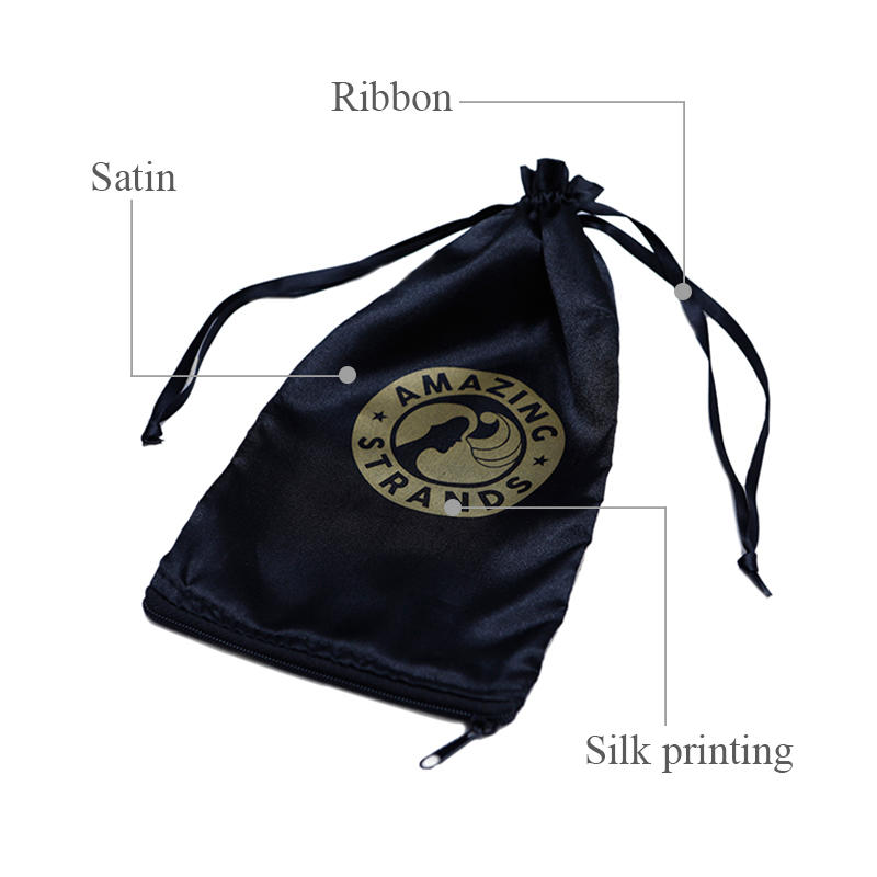 tote satin pouch satin jewelry bag with handle for shoes Yonghuajie-2