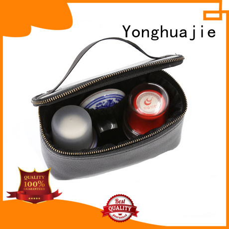 Yonghuajie custom custom makeup bags printed for gift