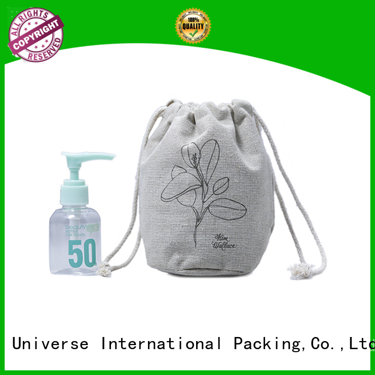 Yonghuajie fast delivery linen drawstring bags for business for students