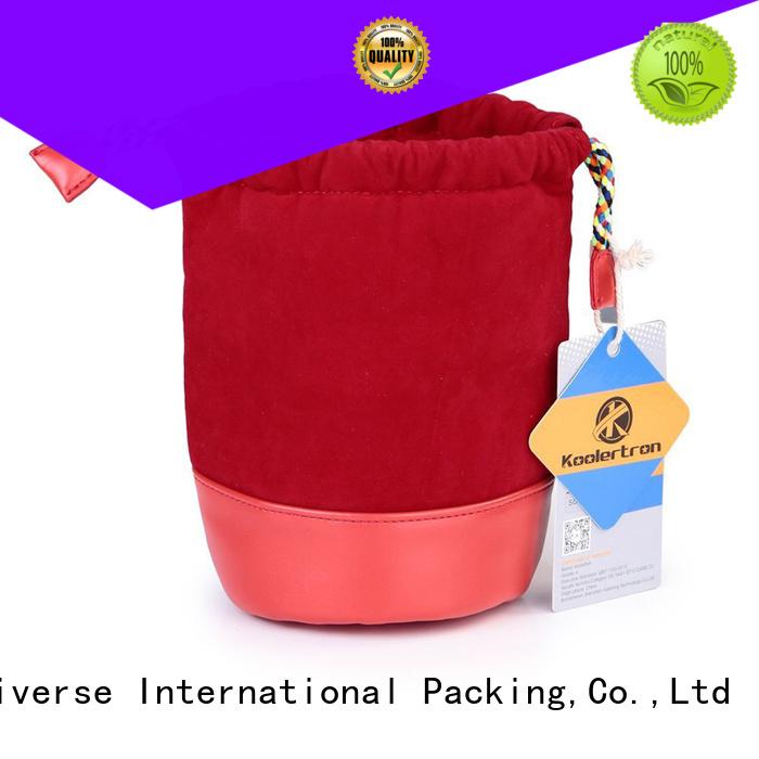 Yonghuajie printed envelope bag purple for watch packing