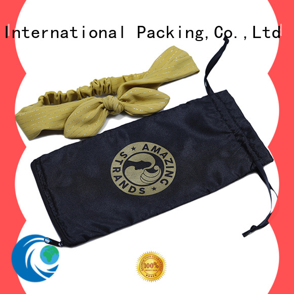 satin bags wholesale         with drawstring for packing Yonghuajie