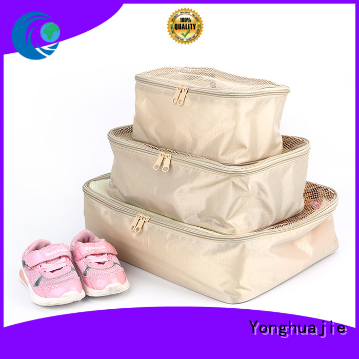 Yonghuajie drawstring microfiber vs polyester Suppliers for storage
