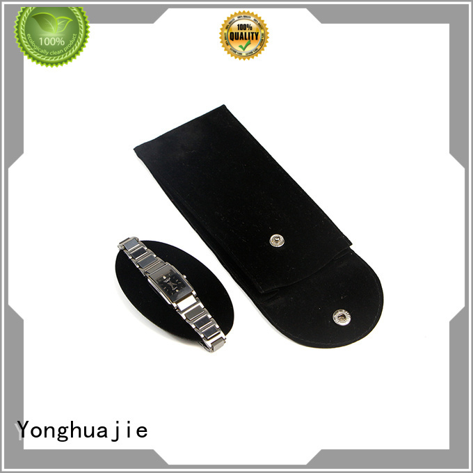 black velvet bag top manufacturer for watch packing Yonghuajie
