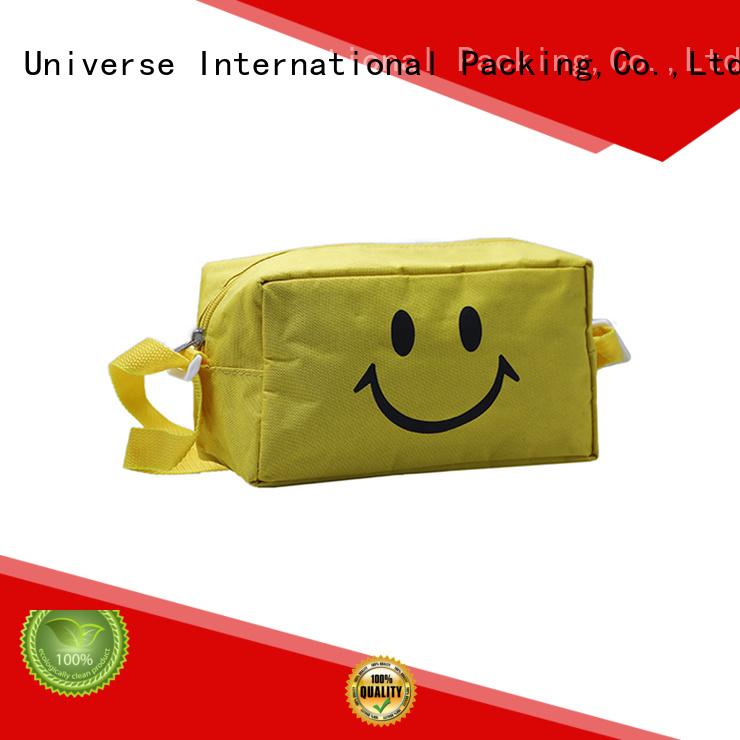 drawstring nylon mesh bag with zipper for storage Yonghuajie