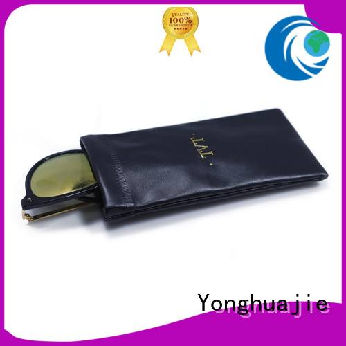 pu leather custom makeup bags large for necklace Yonghuajie