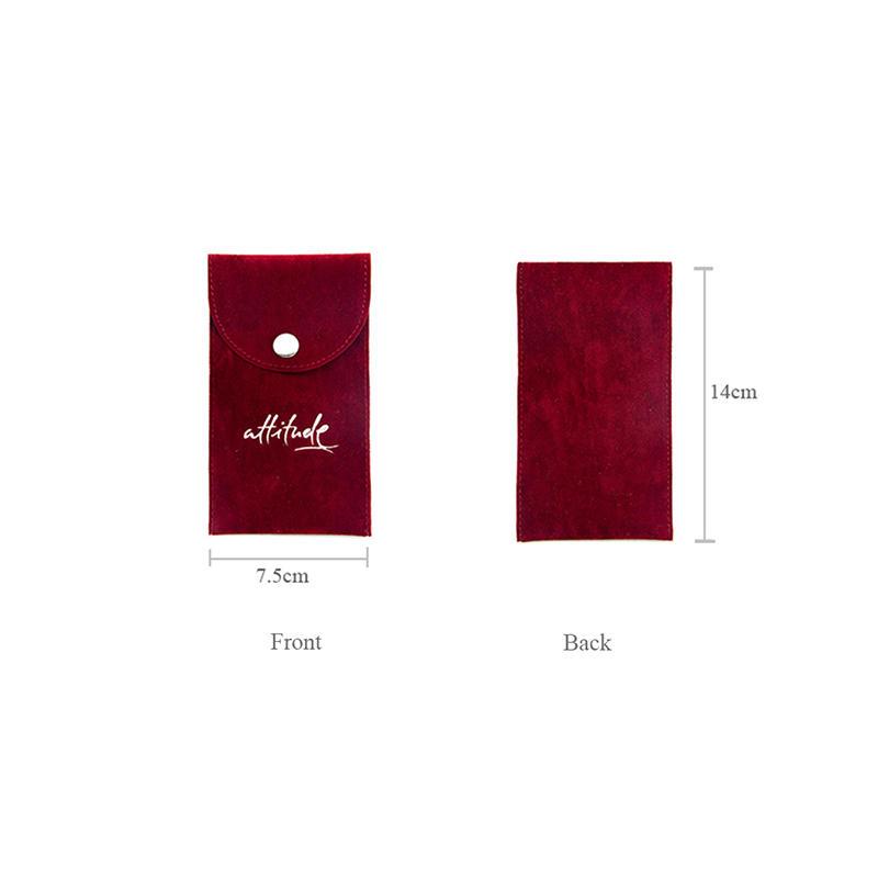 Velvet Watch Bag With Stamping Logo-1
