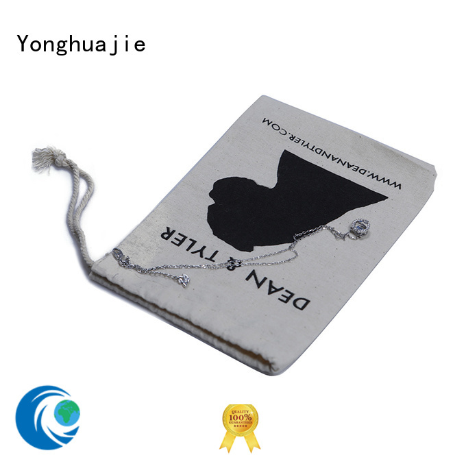 cotton drawstring bags with power bank for packing Yonghuajie