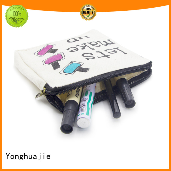 Yonghuajie Brand blank tote canvas tote bags wholesale manufacture