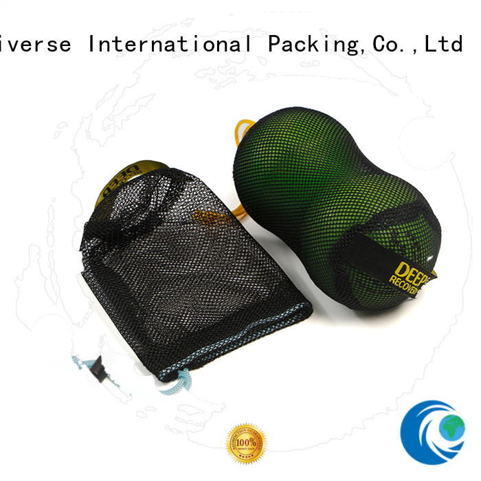 Yonghuajie colors mesh clothes bag at sale for packaging