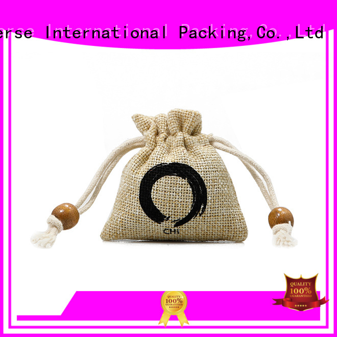 Yonghuajie new arrival cheap jute bags drawstring for wine