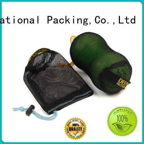 logo small mesh bags for sale for packaging