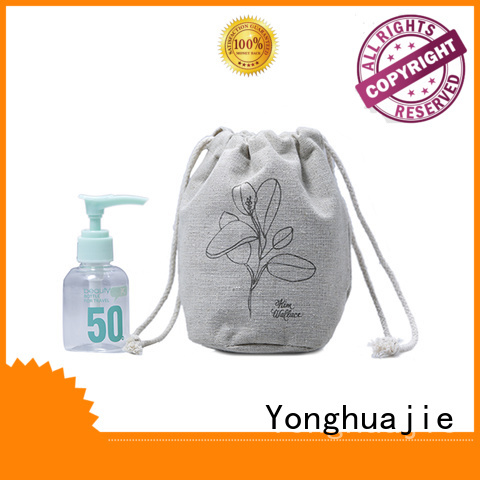 grosgrain linen laundry bag linen gift bags top-selling for students Yonghuajie