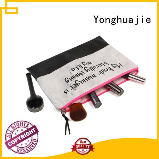 Yonghuajie Wholesale monogrammed tote bags star printed for makeup