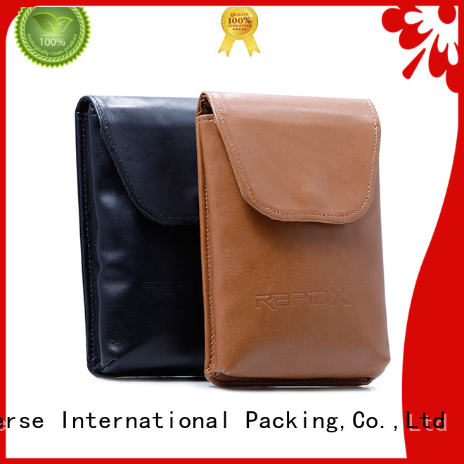 pouch logo cosmetic leather cosmetic pouch Yonghuajie manufacture