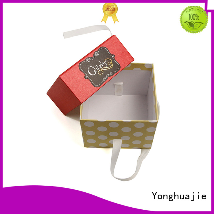 Yonghuajie design recycle paper box cheap for watch packing