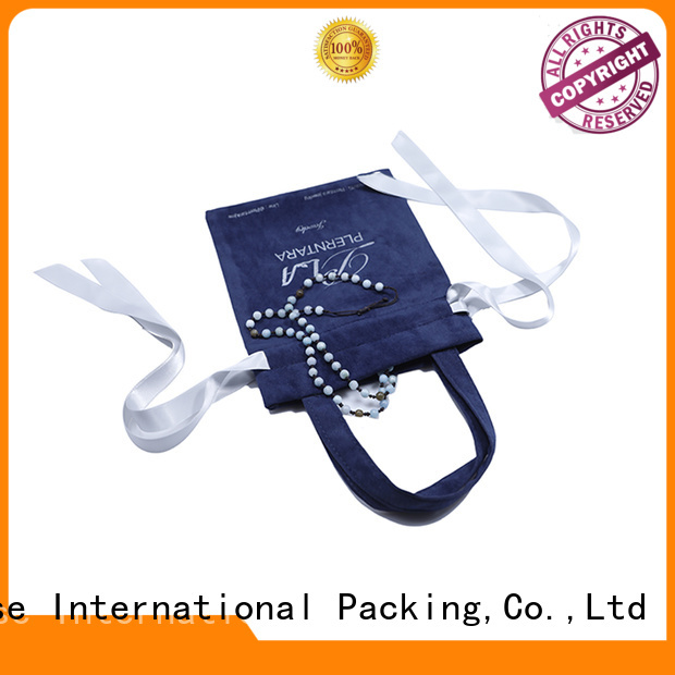 Top velvet pouch top manufacturer factory for packaging