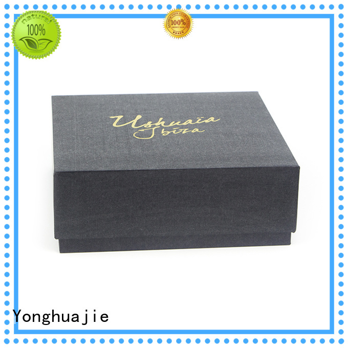 Yonghuajie round custom paper box at discount for packing