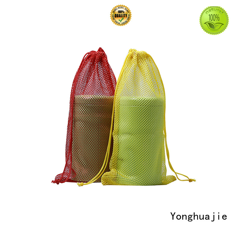 Yonghuajie drawstring mesh tote bag at sale for jewelry