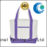 best design canvas tote bags wholesale glitter for packaging