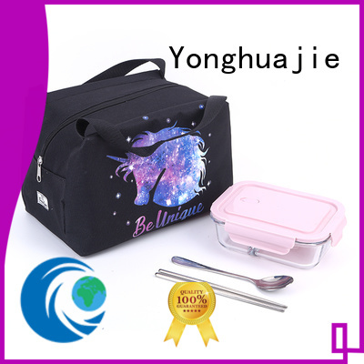 Yonghuajie round bottom what is polypropylene fabric with drawstring for shopping