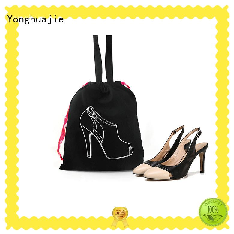 Yonghuajie silk printing fashion canvas bag Suppliers for shopping