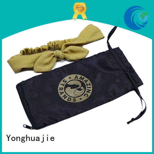 satin bags wholesale         with power bank for storage Yonghuajie
