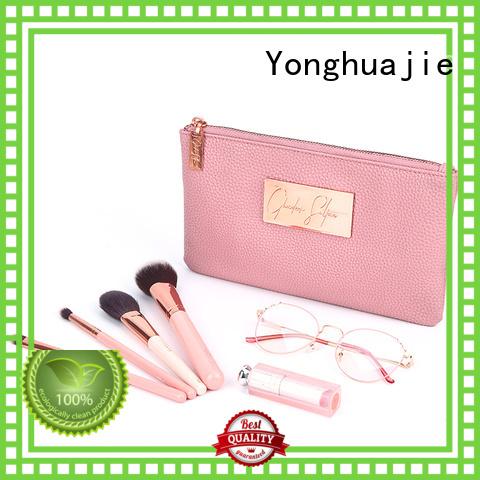 Yonghuajie pu leather leather makeup bag company