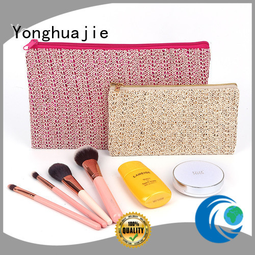 Yonghuajie logo printed leather tote handbags highly-rated for students