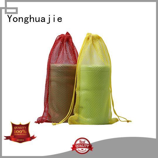 order light mesh drawstring bags Yonghuajie Brand