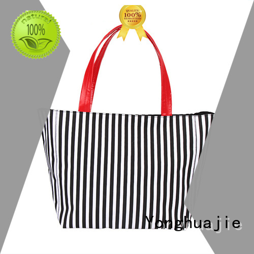 Custom big canvas tote bags pu leather tool for packaging