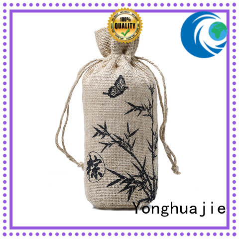 high-quality small jute tote free sample for storage Yonghuajie