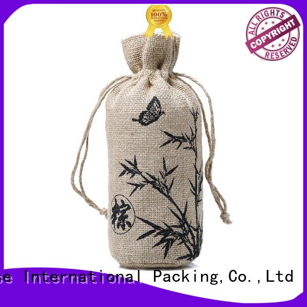 Hot bag jute sack                                                                                                                                                                                               jute shopping bag jute wine Yonghuajie Brand