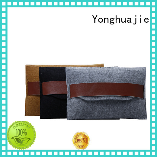 felt tote bag made durable high-end Yonghuajie Brand felt tote bag