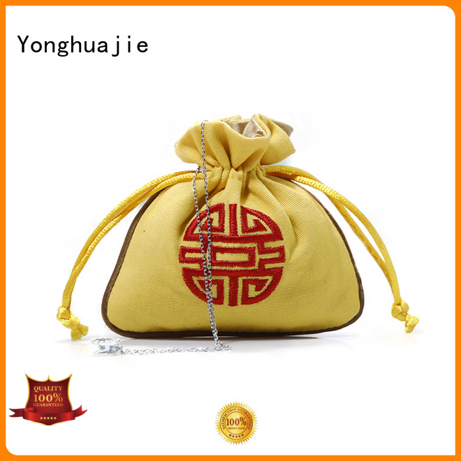 Yonghuajie best design canvas tote bags wholesale strong for shopping