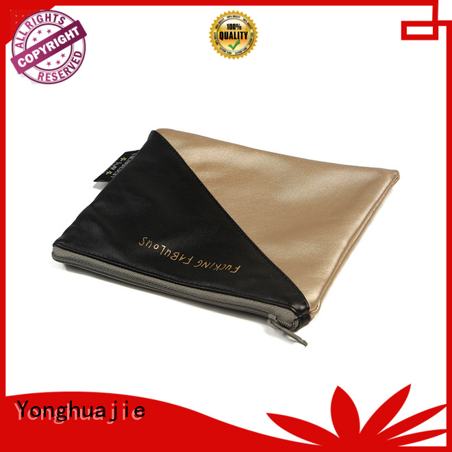 pu leather small cosmetic bags large for jewelry Yonghuajie
