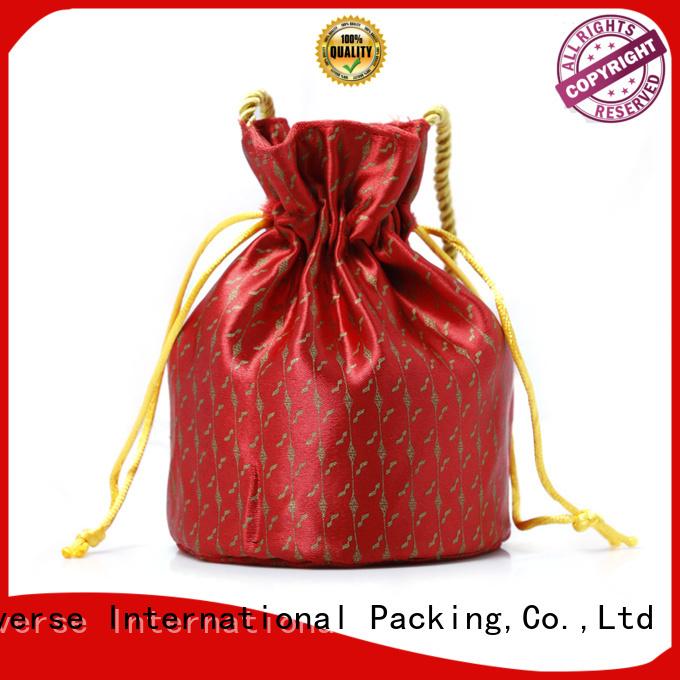 Yonghuajie natural material brocade handbags soft for storage