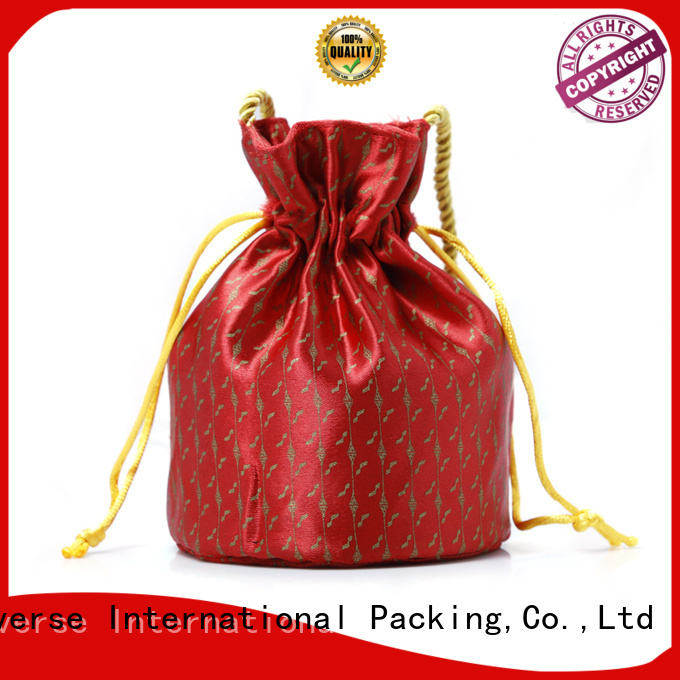 Yonghuajie natural material brocade handbags soft for storage
